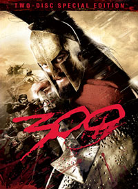 300 dvd artwork 300 Coming to DVD, HD DVD, and Blu ray