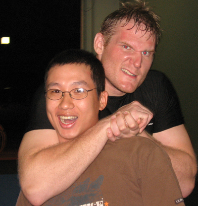 choke King of Pancrase & Pride FC Fighter