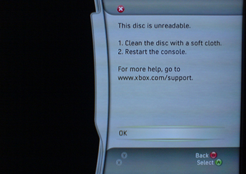 unreadable Xbox 360   3rd Times the Charm?