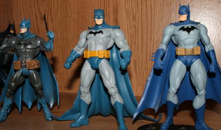 batman compare Batman & Son   Action Figure Review