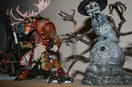 frost reindeer Action Figure Review   McFarlanes Twisted Christmas