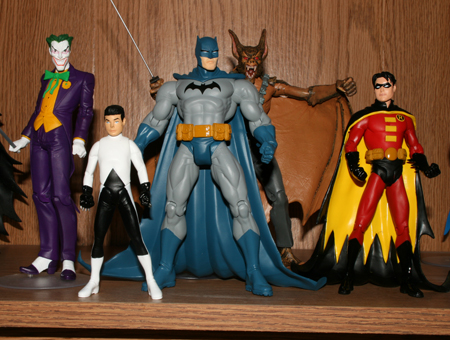 group Batman & Son   Action Figure Review