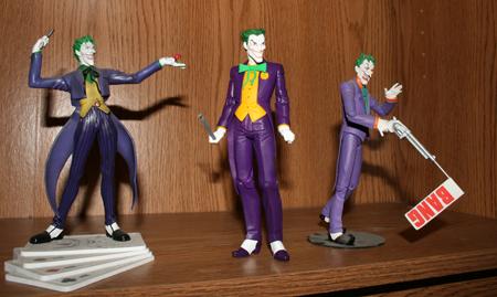 joker compare Batman & Son   Action Figure Review