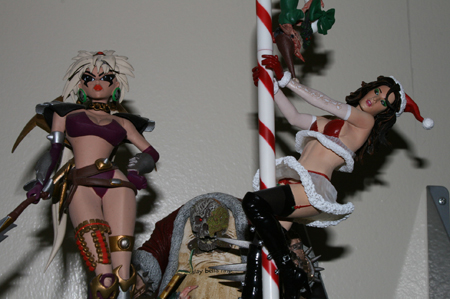 ms tiffany Action Figure Review   McFarlanes Twisted Christmas
