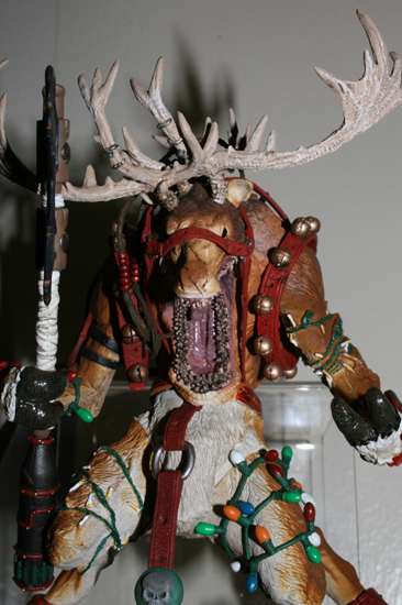reindeer Action Figure Review   McFarlanes Twisted Christmas
