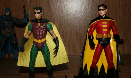 robin compare Batman & Son   Action Figure Review