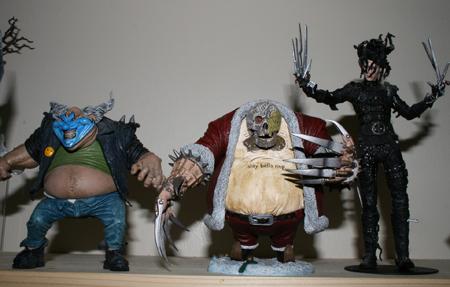 santa2 Action Figure Review   McFarlanes Twisted Christmas