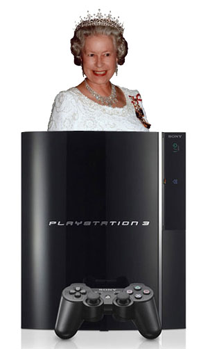 royal queen God save the PS3!