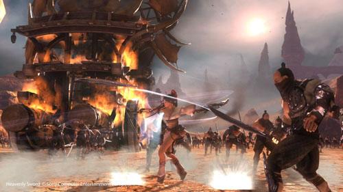 heavenly sword1 Video Game Review: Heavenly Sword (PS3)