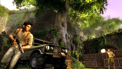 uncharted small Video Game Review: Uncharted: Drake's Fortune