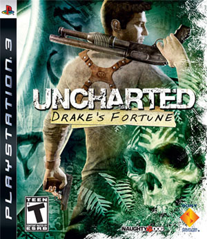 uncharted box art small Video Game Review: Uncharted: Drake's Fortune