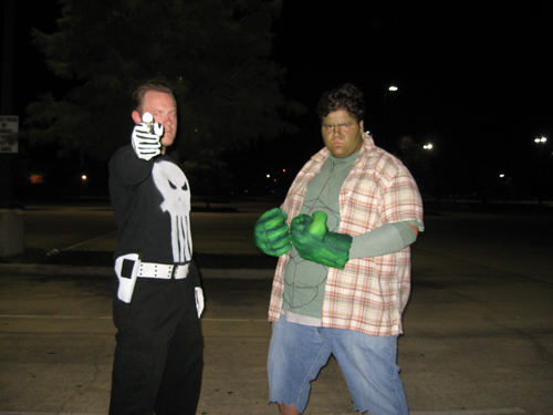 hulk punisher Q & A with Midnight Screening Movie Nerds