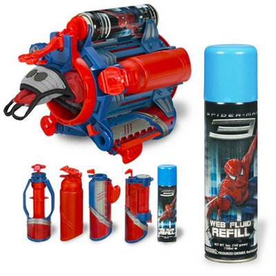 spiderman Silly Rabbit, Silly String is for Soldiers