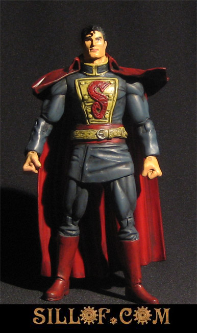 superman Victorian Era Star Wars and Comic Figures