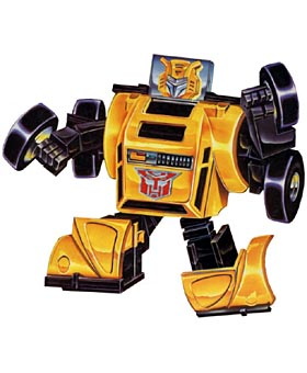 bumblebee Hobbit looking Optimus Prime Toy with Maze Navigation Power!