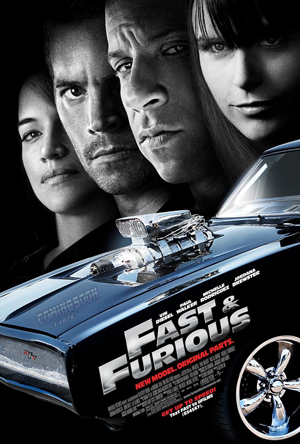 fast and furious movie poster final onesheet Movie Review: Fast and Furious AKA Vinny the Bullet Stopper