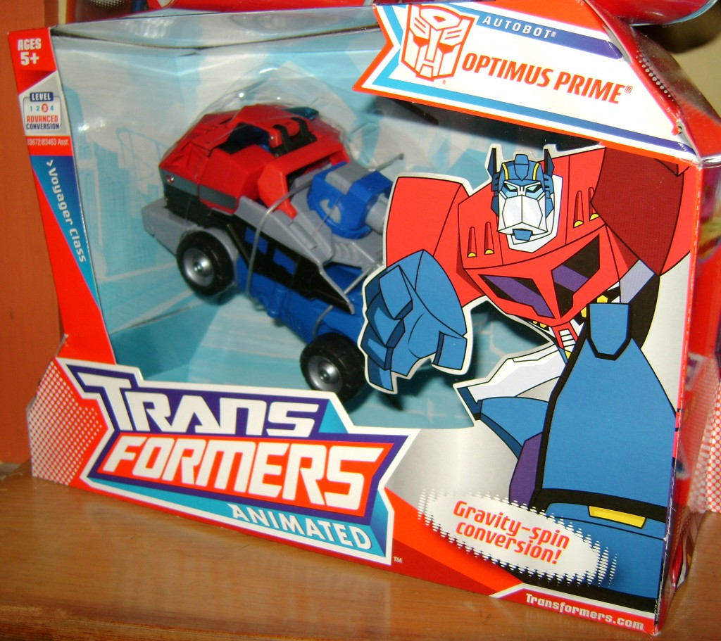 AOP bx 1024x911 Toy Review: Transformers Animated Optimus Prime!