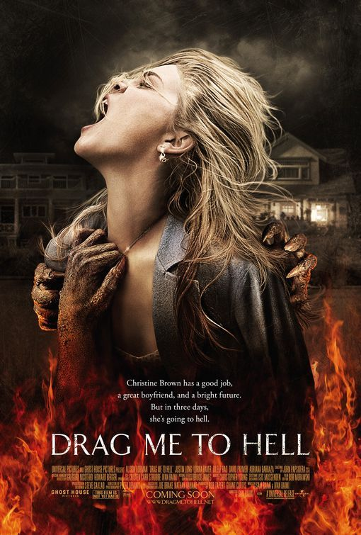 drag me to hell poster Movie Review: Drag Me to Hell