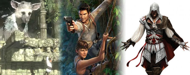 e3 2009 the last guardian uncharted 2 assassins creed 2 E3 2009: The Games Im Stoked About