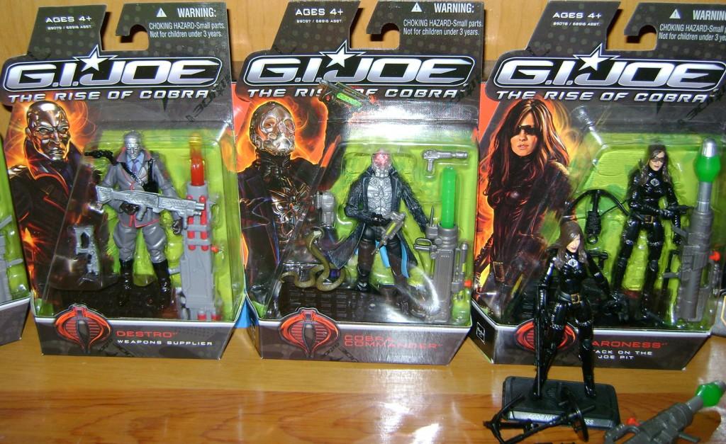 D and CC and B  1024x627 Toy Review: G.I. Joe: The Rise Of Cobra!