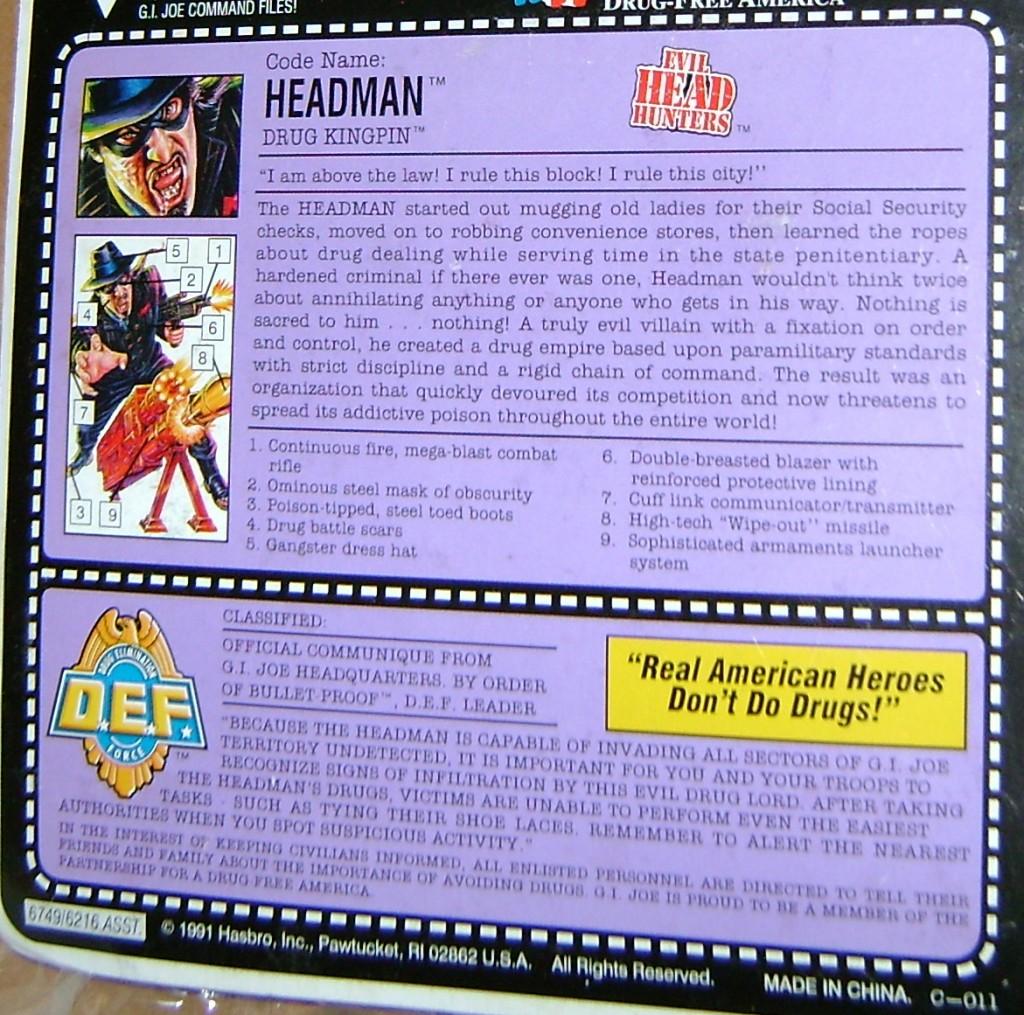 HM4 bk 1024x1015 Vintage Toy Of The Week: G.I. Joe Headman!