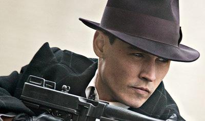 Johnny Depp Dillinger Public Enemy John Spartan Faces the Public Enemies