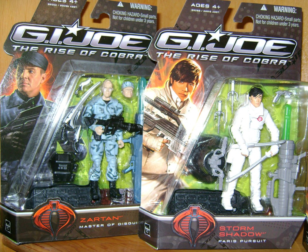 Z and SS 1024x839 Toy Review: G.I. Joe: The Rise Of Cobra!