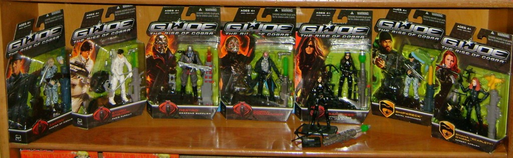 collection 1024x316 Toy Review: G.I. Joe: The Rise Of Cobra!