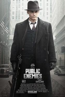 public enemies poster small Movie Review: Public Enemies