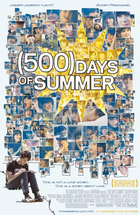 500 Days of Summer Movie Review: (500) Days of Summer