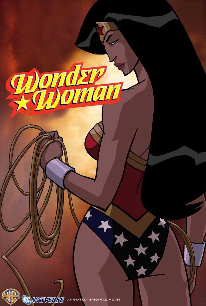 Wonder Woman Animated Movie Poster Movie Review: Wonder Woman Animated Original Movie