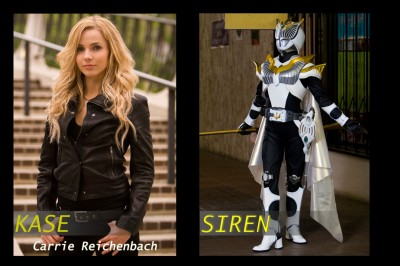 Carrie 2 Interview with Kamen Rider: Dragon Knight Star Carrie Reichenbach (Kamen Rider Siren)
