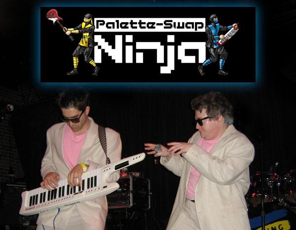 Palette Swap Ninja Dan Jude Game Music Parodies: An Interview with Palette Swap Ninja