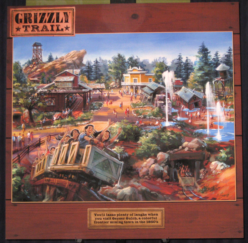 grizzly trail sm D23 Expo: The Future of Disney Parks & Resorts Exhibit