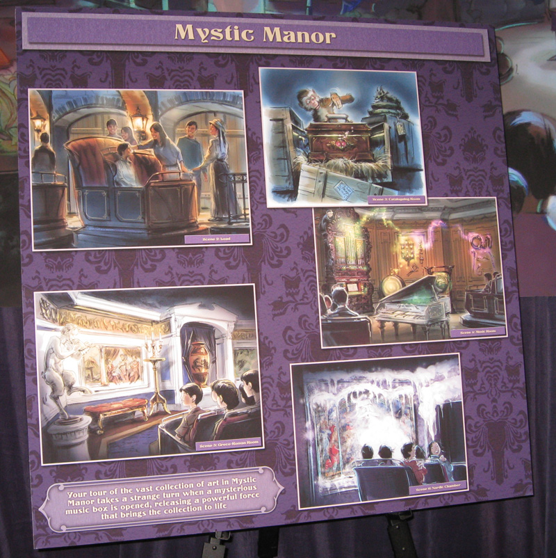 mystic manor sm D23 Expo: The Future of Disney Parks & Resorts Exhibit