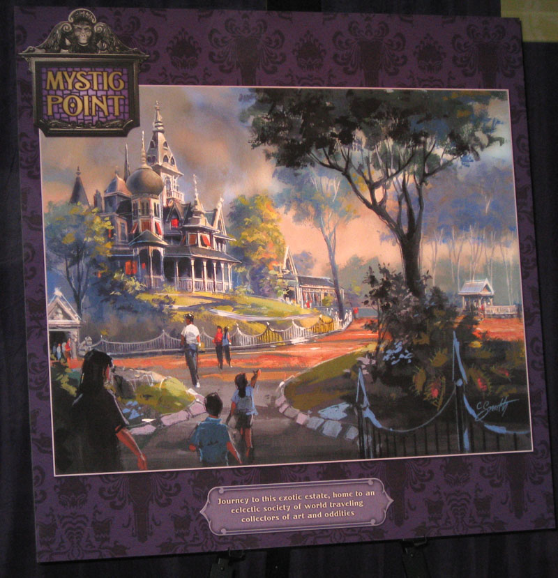 mystic point sm D23 Expo: The Future of Disney Parks & Resorts Exhibit