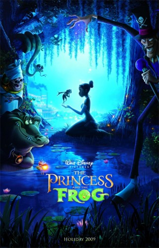 princess and the frog poster 320x500 The Princess and The Frog Panel Discussion with Ron Clements & John Musker – D23 Expo