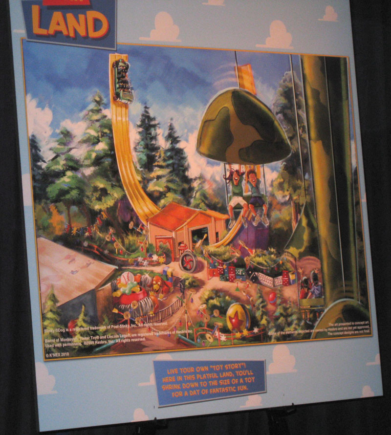 toy land sm D23 Expo: The Future of Disney Parks & Resorts Exhibit