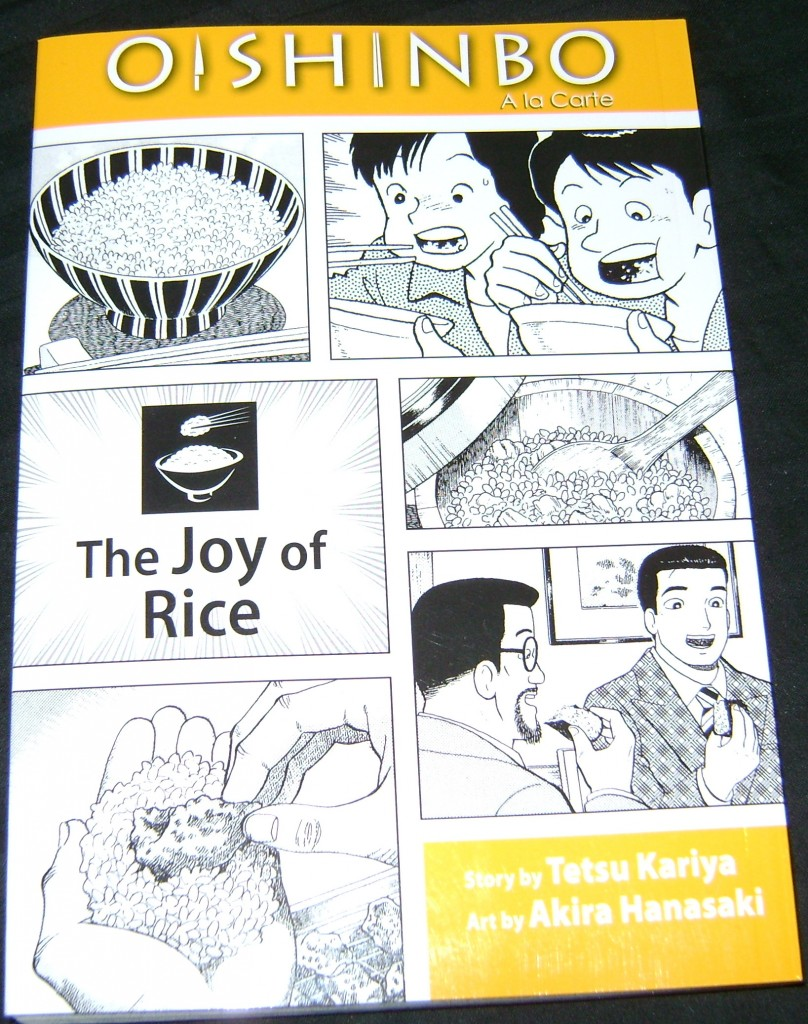 Oishinbo 808x1024 Manga Review: Oishinbo: The Joy Of Rice
