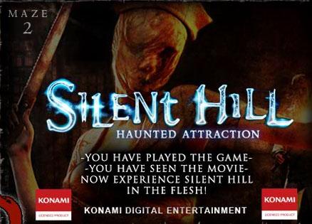 Silent Hill Maze Ad Silent Hill Halloween Maze is a Fright