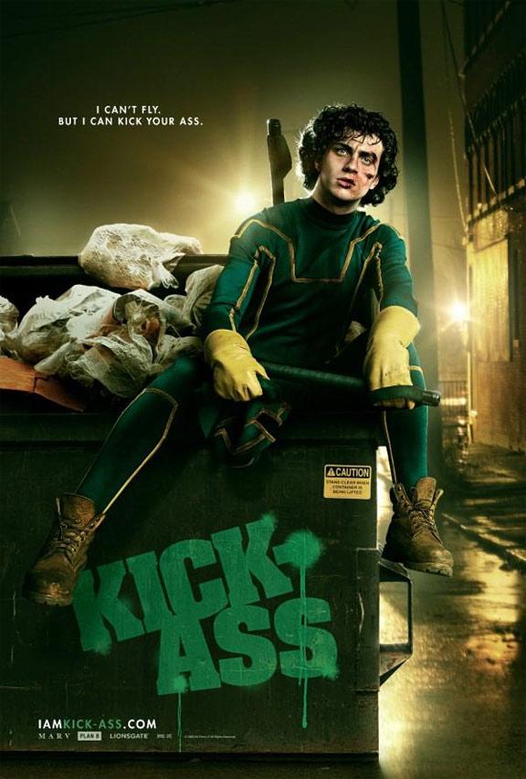 Kick Ass Poster I Cant Fly Kick Ass Teaser Trailer Will Ummm…Kick Your Ass!