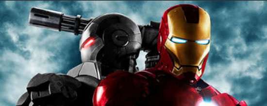 Iron Man 2 Bromance Poster banner Iron Man 2 Trailer is Here!