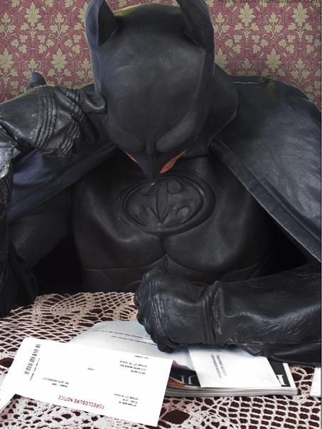 batman bills Batmans Gotta Pay His Bills