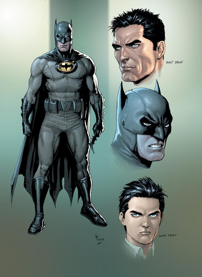 batman graphicnovel 2010 New Take on Batman and Superman in 2010
