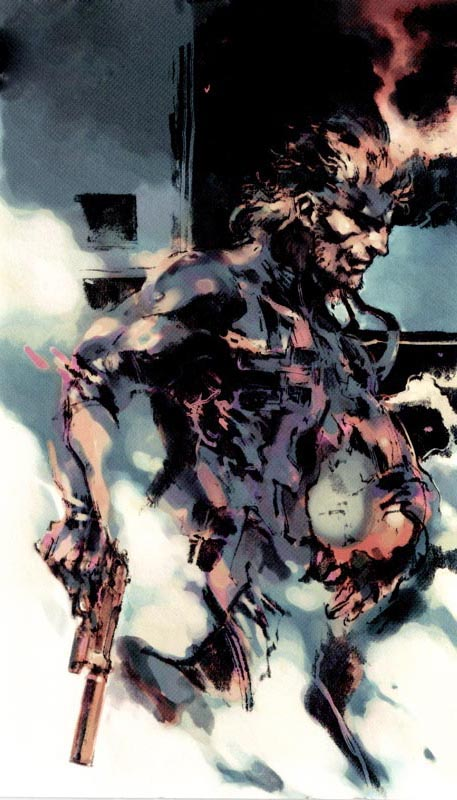 mgs2 solid snake yoji shinkawa Interview: David Hayter Geeks Out with NERDSociety