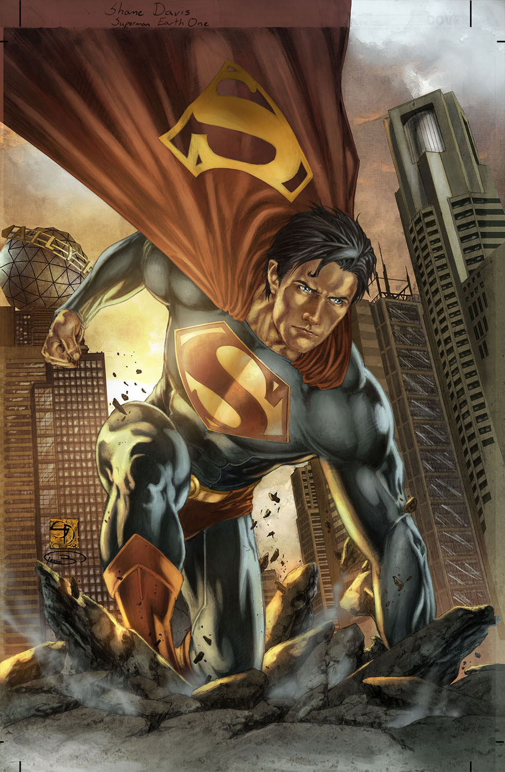superman graphicnovel 2010 New Take on Batman and Superman in 2010