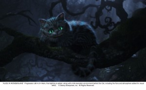 Cheshire Cat Progression 4 of 4 JPG 300x185 New Alice In Wonderland Images