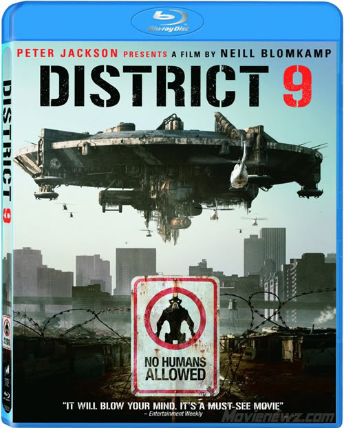 District 9 bluray Video: Exclusive Blu Ray District 9 Package Review