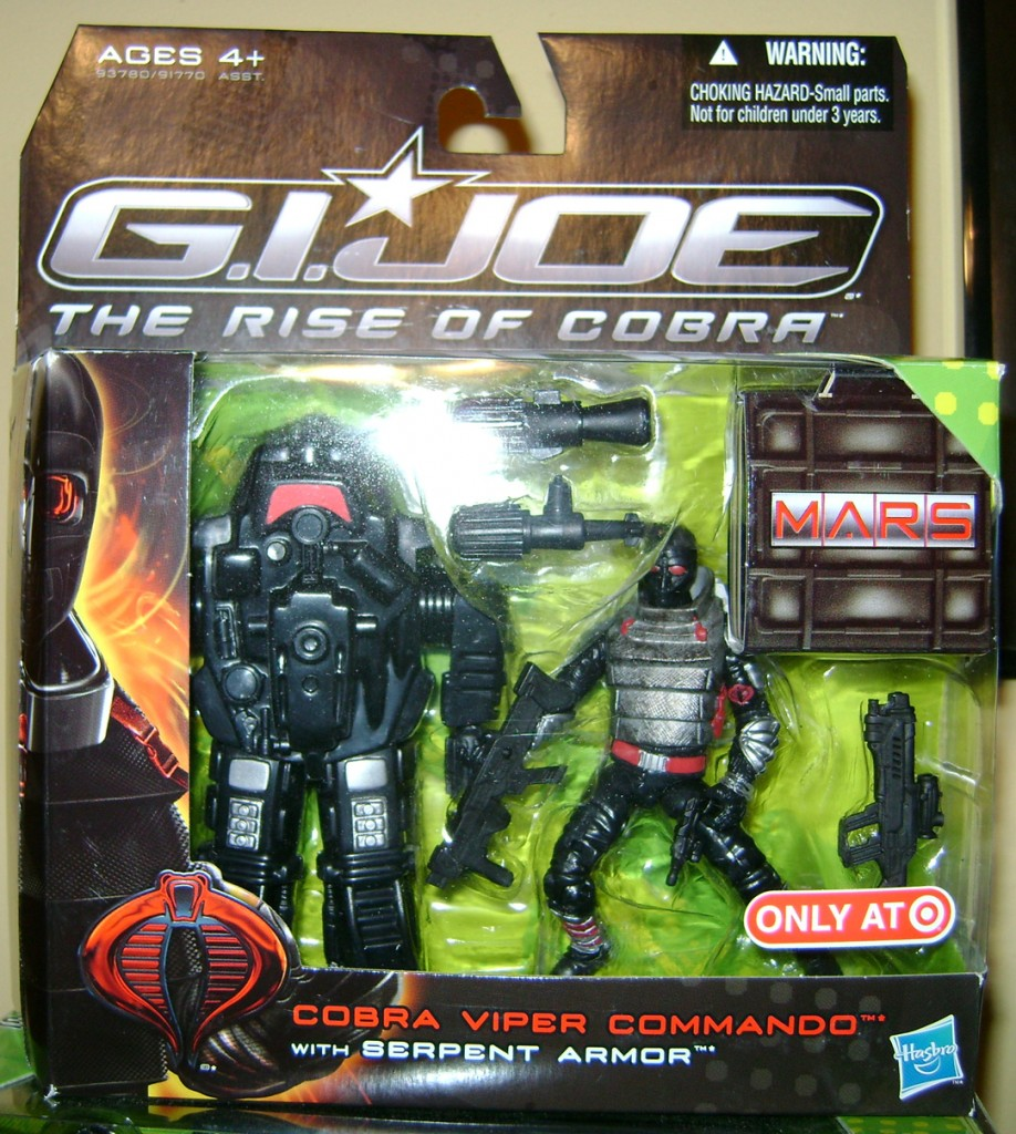 SNAKE packaged 918x1024 Bitchin Toy Of The Week: Cobra Viper Commando With Serpent Armor!