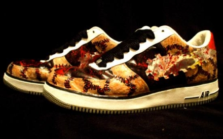 air force one texas chainsaw massacre 4 Shoes To Die For